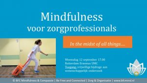 Mindfulness in de zorg