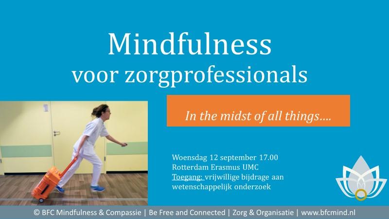 Mindfulness in de zorg